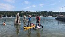 De Nantes à Brest. 414 km en paddle, Nicolas Combes et Rudy Veillard l'ont fait !