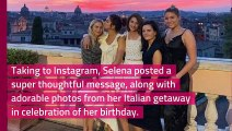 Selena Gomez Shares a Thoughtful Post About How 'Truly Grateful' She Is Before Getting 'Back to Work'