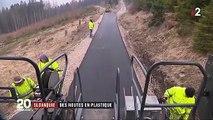 Slovaquie : des routes fabriquées à partir de déchets plastiques