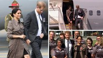 Meghan - Harry Arrive In New Zealand / Latest Royal News