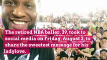 Lamar Odom Shares a Sweet Message for Girlfriend Sabrina Parr