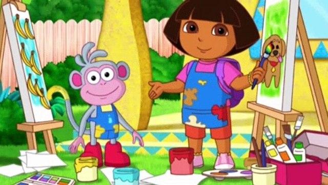Dora the Explorer Season 7 Episode 12 - Vamos a Pintar!