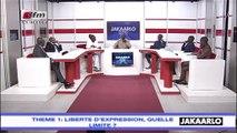 Jakaarlo bi du 02 Aout 2019 : Liberté d'expression, quelle limite?