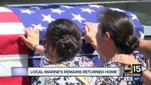 Remains of Marine killed in Japan crash returned