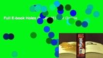 Full E-book Holes (Holes #1)  For Online
