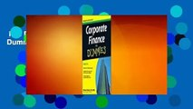 Full E-book  Corporate Finance for Dummies  Review