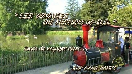 LES VOYAGES DE MICHOU W-D.D. - 1er AOUT 2019 - PAU - PRENONS LE TRAIN POUR ALLER AU FAR WESTmp4
