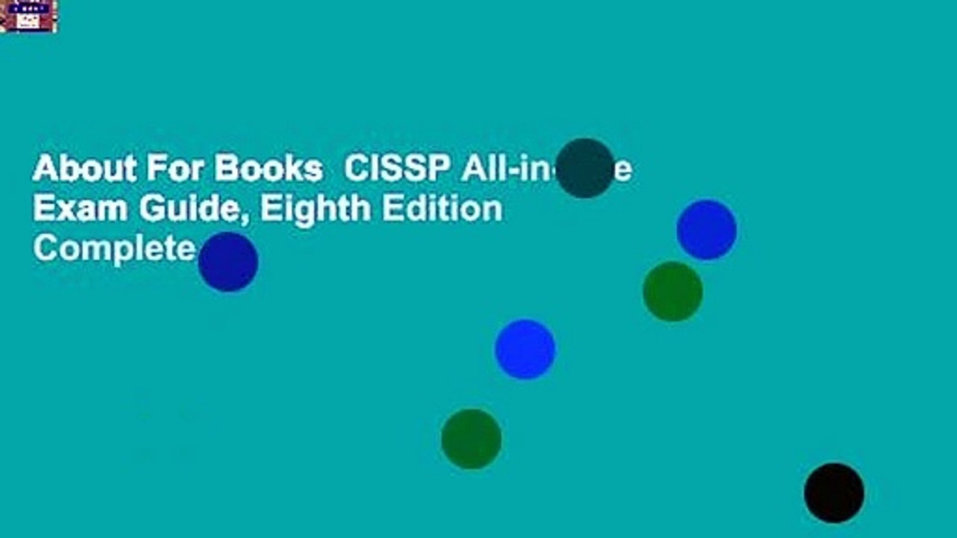 About For Books CISSP All-in-One Exam Guide, Eighth Edition Complete