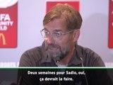 Liverpool - Klopp espère un retour de Mané dans 2 semaines