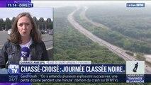 La circulation est fluide pour l'instant au péage de Saint-Arnoult mais des bouchons sont attendus entre 14h et 18h dans le sens des retours
