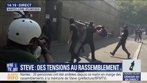Des premiers heurts à Nantes durant le rassemblement contre les violences policières