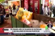 Chile dejó de fabricar más de 2000 millones de bolsas tras un año de ley de plásticos
