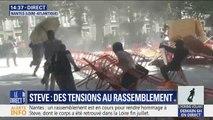 Nantes: des barricades sont en train d'être dressées lors du rassemblement contre les violences policières