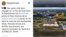 Crash d'un bombardier d'eaudans le Gard: le pilote aurait «perdu ses repères»