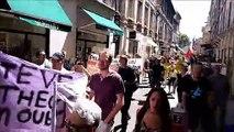 Avignon: ils marchent pour Steve dans les rues de la cité des Papes