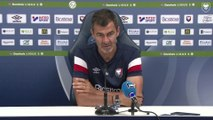Conférence de presse avant SMCaen / FC Lorient