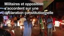 Des Soudanais célèbrent la signature de l'accord