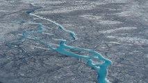 Inquiétant record de fonte glaciaire au Groenland