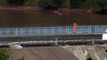 Emergency services continue Whaley Bridge repair