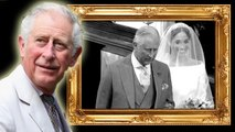 Prince Charles Has Framed Photo Of Him Walking Meghan Down The Aisle Up In Clarence House