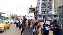Conakry: une autre manifestation d'opposants au 3ème mandat à Kaloum