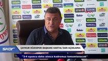 Çaykur Rizespor Başkanı Hasan Kartal'dan Ali Koç itirafı: 'Söz verdi'