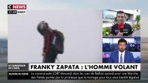 """Franky Zapata : """"Cela nous porte de savoir que l'on a du monde derrière nous"""""""