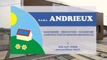 SARL Andrieux, maçonnerie, rénovation, couverture, constructeur de maisons à Aixe-sur-Vienne.