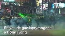 Hong Kong: la police lance des lacrymogènes sur les manifestants