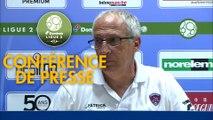 Conférence de presse ESTAC Troyes - Clermont Foot (1-2) : Laurent BATLLES (ESTAC) - Pascal GASTIEN (CF63) - 2019/2020