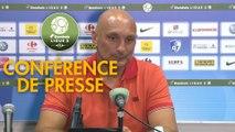 Conférence de presse Grenoble Foot 38 - AC Ajaccio (0-1) : Philippe  HINSCHBERGER (GF38) - Olivier PANTALONI (ACA) - 2019/2020