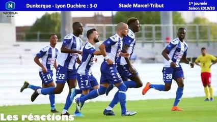 Réactions USLD-Lyon Duchère (J1)