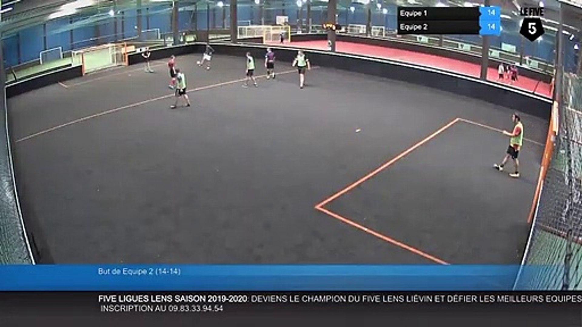 But de Equipe 2 (14-14) - Equipe 1 Vs Equipe 2 - 03/08/19 14:34 - Loisir Lens (LeFive)