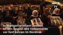 Jesiden erinnern in Stuttgart an IS-Genozid