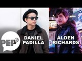 "Daniel Padilla on Alden Richards: ""He's a good guy."" 