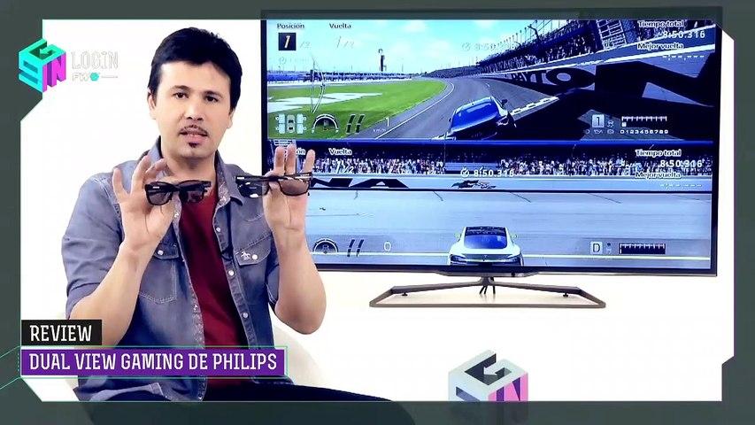 Gafas 3D Dual View Gaming de Philips