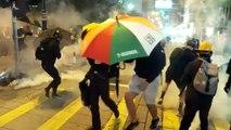 Hong Kong: polícia usa gás lacrimogêneo contra manifestantes