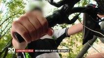 Précarité : la colère des livreurs à vélo