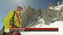 Environnement : l'érosion des roches dans les Alpes inquiète