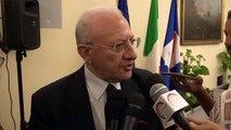 De Luca e l'Edilizia Ospedaliera della Regione Campania (03.08.19)