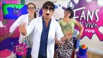 Fans en Vivo #50 - Blooper Los chicos cantan la nueva cancion de Julián Serrano
