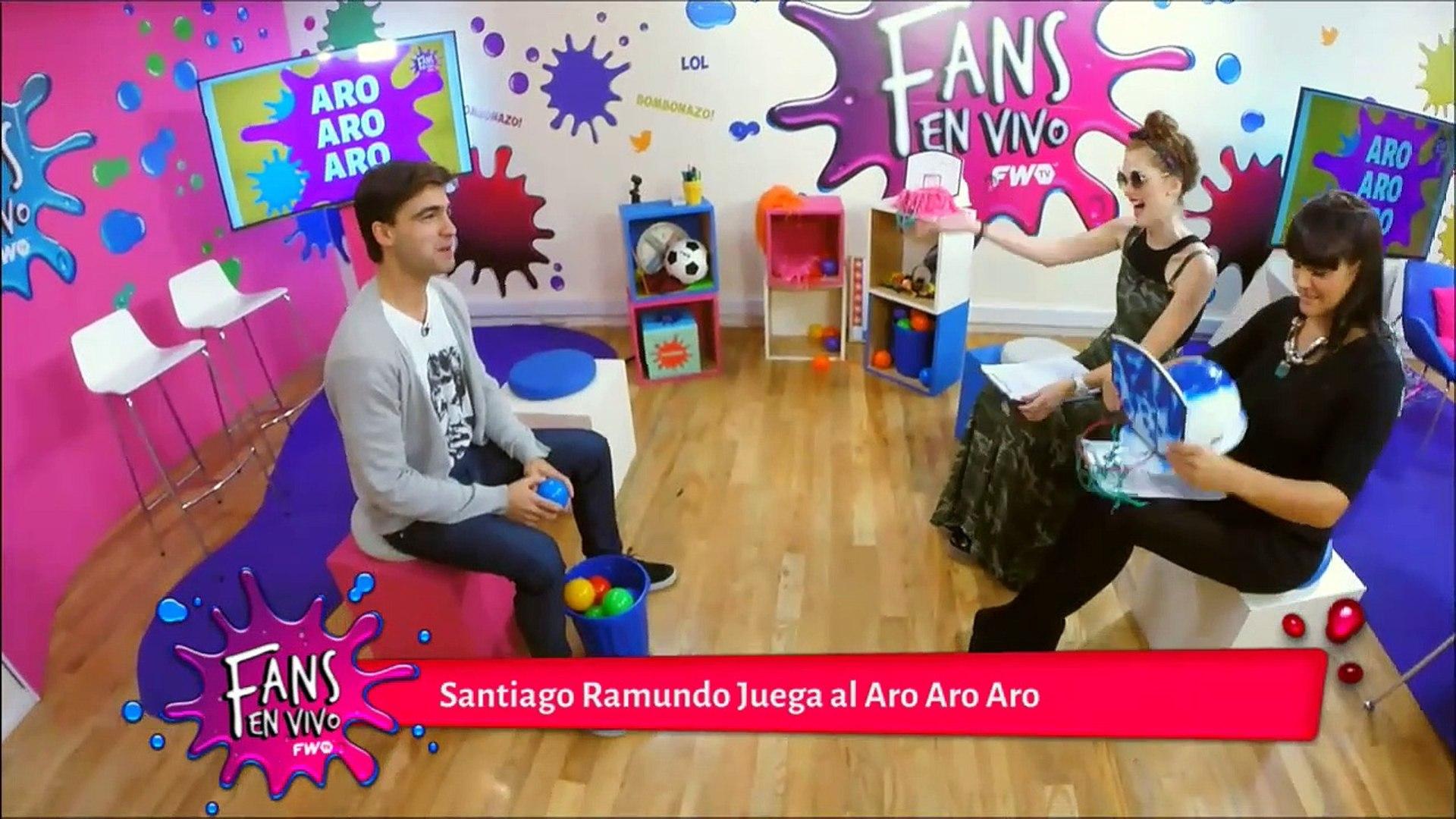 Santiago Ramundo juega al Aro Aro Aro - Fans en Vivo #86