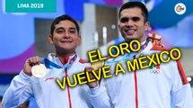 Con capa desde la Plataforma de 10m, Iván García y Kevin Berlín ganan Oro en Juegos Panamericanos
