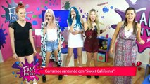 "Sweet California nos canta ""Wonder Woman"" 