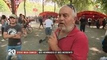 Le résumé en images des violences à Nantes hier après-midi lors de la manifestation en hommage à Steve et contre la police