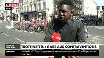 Désormais, rouler sur les trottoirs en trottinette à Paris coûte 135€ et un stationnement gênant pour les piétons 35€