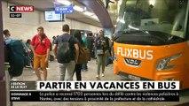 Bien moins cher que le train et l'avion, même low cost, le bus attire de plus en plus les vacanciers
