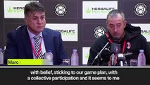(Subtitled) Our mistakes in Man Utd match laid bare' - AC Milan head coach
