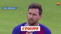 Messi ambitieux devant le Camp Nou - Foot - Barça
