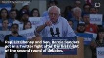 Rep. Liz Cheney And Sen. Bernie Sanders Engage In Twitter Fight